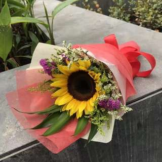 Graduation Sunflower Bouquet