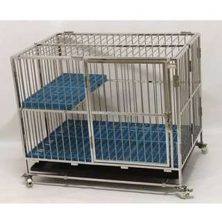 KARCINIA 3' STAINLESS STEEL CAT CAGE