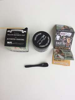 Whitening tooth powder Activated charcoal