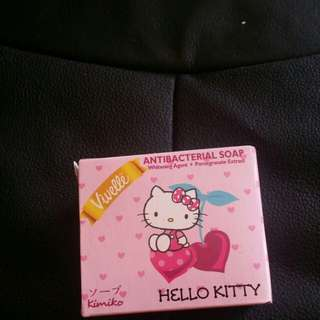 Hello kitty vivelle soap