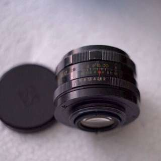 Helios 58mm F/2 44M lens (Condition 8)
