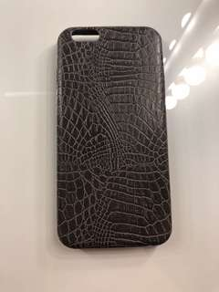 iPhone 6 Leather Snakeskin Phone Case