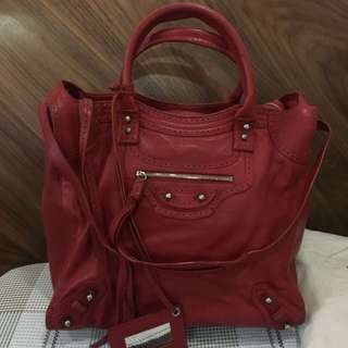 preowned and used condition Balenciaga tote