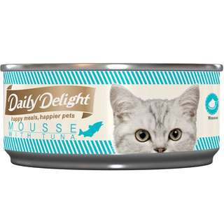 Daily Delight Mousse 80gm - $1.50 / Per ctn of 24 cans $34.00
