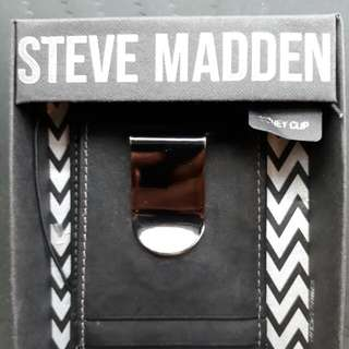 Steve Madden Wallet Card with Money Clip