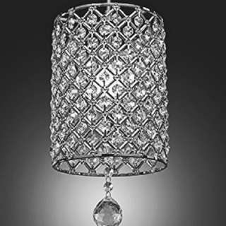 Drop pendant crystal light, New in box