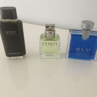Men's 100ml fragrances