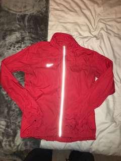 Red Nike Windbreaker