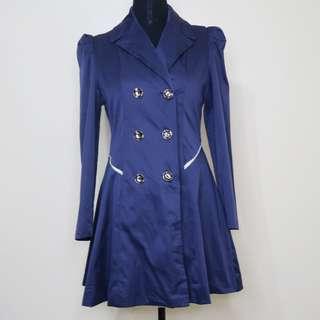 Pre-loved Blue Princess Coat