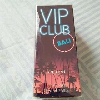 Vip club body mist