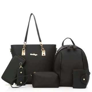 Handbag set 6n1 (pre order)