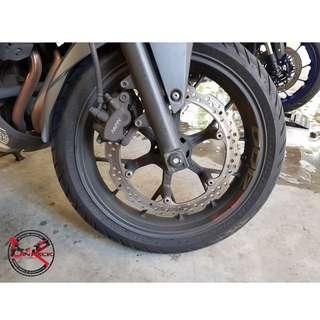 Rim Cleaner / Reactive Rim Cleaner / Honda CB 400X