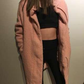 Express Pink Fall Jacket