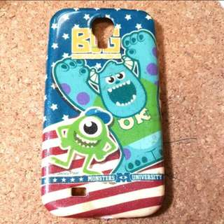 Disney怪獸大學MonstersUniversity 大眼仔毛毛美國國旗 S4迪士尼卡通手機殼Samsung /三星
