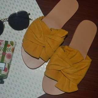 Mustard Slip On