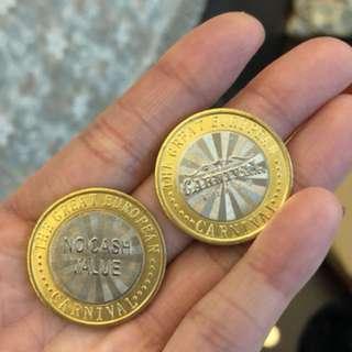 A1A嘉年華 2018金幣 2個