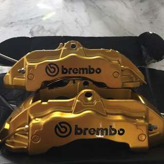 Original brembo 6 pot 18oz