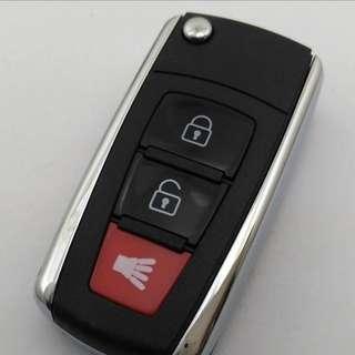 Exora flip key with silicon cover