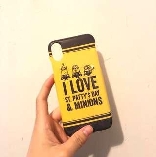 iPhone X minions case