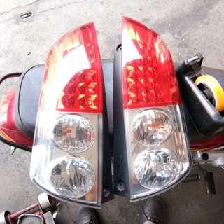 Old Myvi rear lamp set L/R
