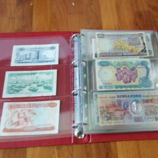 Collection singapore note