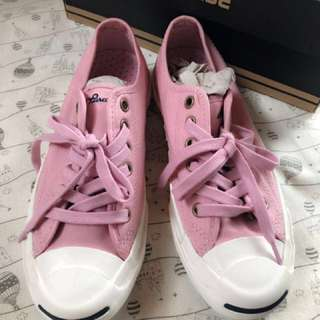CONVERSE🌸櫻花粉色開口笑系列帆布鞋