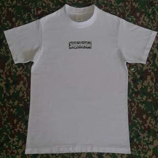 SUPREME x BAPE BOX LOGO T SHIRT