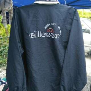 Ellesse big logo zipper windbreaker jacket