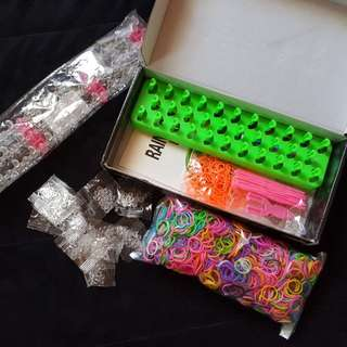 REPRICED!! Loom Bands (take it all)