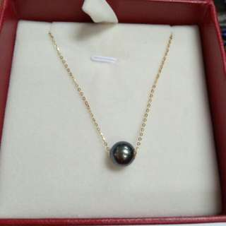 18K Seawater Pearl Necklace
