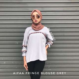 👚Aifaa fringe blouse