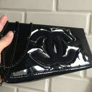 Chanel clutch pouch
