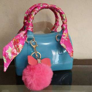 Brandnew Parisian jelly bag with sling