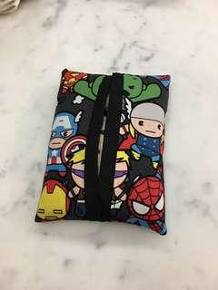 Marvel avengers Kleenex travel tissue holder