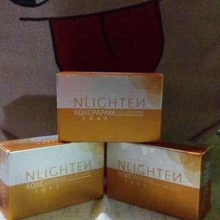 NLIGTEN Kojic papaya soap