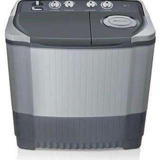 Mesin cuci LG 12kg, bisa cicilan bebas uang muka