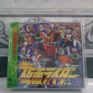 Japan 2CD Showa Kamen Rider Theme Song Collection