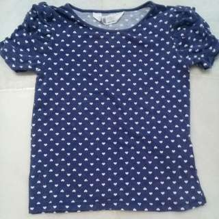 4 years H&M Girl Shirt