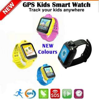 3G GPS Kids Tracking Watch