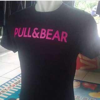 Pull&Bear tulisan pink L