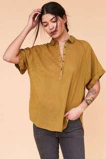 BDG mustard shirt