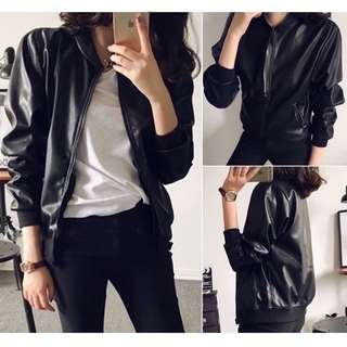 🔥Women's Leather Jacket Korean Fashion🔥