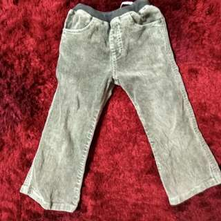 Celana panjang anak laki usia 2-3 thn