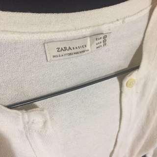Zara Cardi Crop