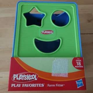 BNIP Play Skool shape sorter /form fitter