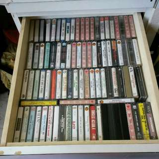 Cassettes - 80s and 90s music