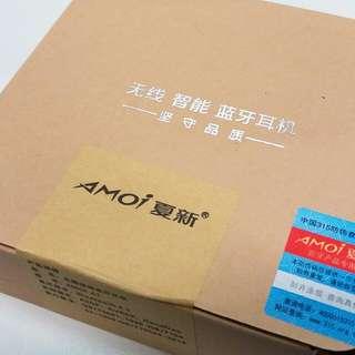 AMOI A1 Bluetooth 運動型藍牙耳機 (純黑)