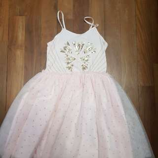 Cotton on kids dress with tutu skirt for girls