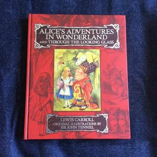 Alice In Wonderland And Through The Looking Glass (Collectible - Illustrated Book) NEGOTIABLE
