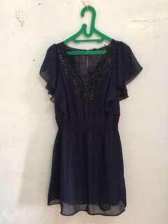 Blue Dress size: 10